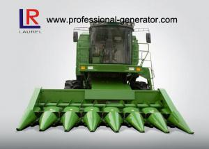 China Multi - Functional 7 Rows Combine Corn Harvester with Mechanical Stepless Transmission on sale
