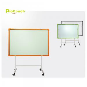 China Riotouch high quality all in one smart class interactive whiteboard smart teaching school board with free software on sale