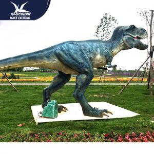 China Water - Proof Outdoor Dinosaur  / Spray Water And Smoke Vivid Animatronic Dinosaur Model on sale