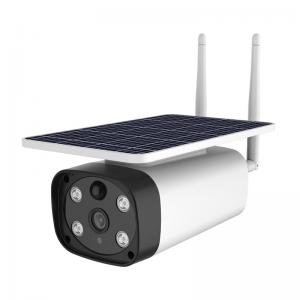 China Live Streaming Monitor HD 4G Solar Battery Camera on sale