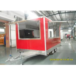 China Pizza Oven Cart Food Concessions Trailers With Commercial Gas Pizza Oven on sale