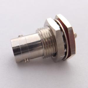 China Cuir embouti de connecteur masculin de BNC/type de soudure connecteur de 50/75 OHM pour le câble RG178/316/174 coaxial de liaison on sale