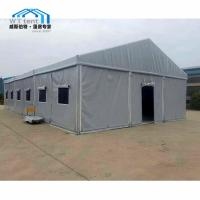 China Permanent Industrial Warehouse Tent Customized Color Cassette Flooring on sale
