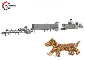 China SS Dry Pet Food Production Line Electric / Diesel Energy Longer Service Life on sale