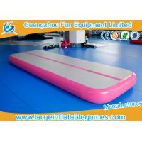 Durable Large Inflatable Sport Games , Inflatable Air Mat With 3*1*0.2m Size