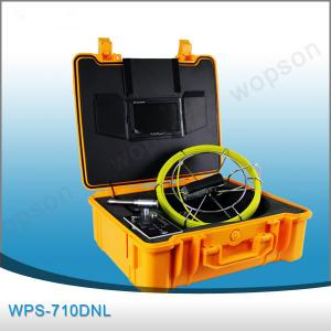 China Well Articulating Inspection Camera With 512 HZ , Pipe Inspection Camera WPS710DNL on sale