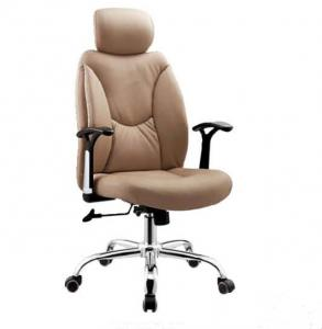 China Ajustable PU Leather Office Chair , Swivel Chair for heavy people DX-C627 on sale