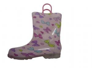 China Rainy Day Pretty Practical Handle OEM  Kid Rain Boot on sale