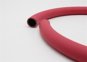 China Red Rubber Fuel Hose , Diesel , Flexible Oil High Pressure Fuel Hose on sale