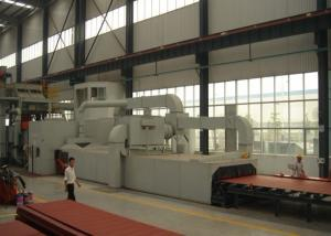 China Abrasive Anti - Rust Steel Plate Shot Blasting Machine Automatic Heavy Duty on sale