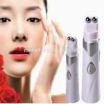 Meraif wholesale Portable Electric Laser Heat Eye Massager Machine Anti Wrinkle Dark Circle Puffiness Removing