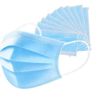 China Air Pollution Mask Face Mascaras Medica 3 Ply Disposable Surgical Mask on sale