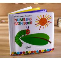 Number Learning Education Baby Bath Book Soft EVA Bath Book for Children Bath Good Time