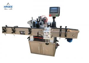 China Three Sides Round Bottle Sticker Labeling Machine 20-200pcs/Min Speed on sale