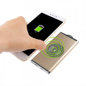 China Golden Quick Charge Power Bank , Fast Charge Portable Battery Pack on sale