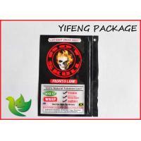Tobacco Packaging Ziplock Storage Bags flat bottom with Printed