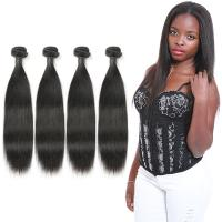 Non Remy Real Natural Looking Straight Weave No Synthetic Hair OEM Service