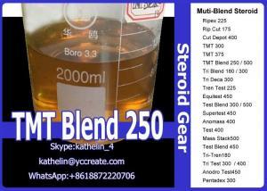 China Semi Finished Steroid Oil TMT Blend 250 (Tren A/Test Prop/DP Blend) For Bodybuilding on sale