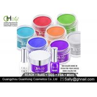 Purple Color Nail Dip Powder Perfect Match Gel Polish and Nail Lacquer