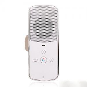 China Sun Visor Mini Bluetooth Speakerphone Handsfree Bluetooth Car Kit Play Music GPS supplier
