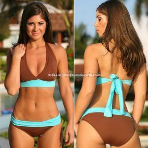 e5ff4232a06d4 Quality 2013 Fashion Design Ladies Sexy Brown Bikini Set Swimwear for sale