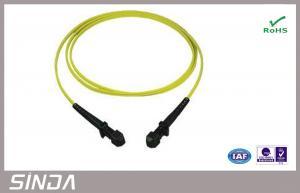 China Fiber Optic Adapter Singlemode 1M SX LSZH Corning Fiber Optic Cable For CATV on sale