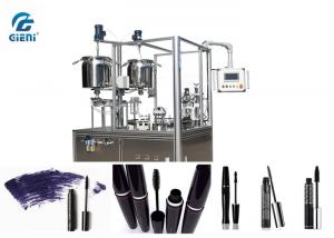 China 15L Material Tank Mascara Filling Machine Heating Function With 24~30pcs/Min Capacity on sale