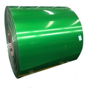 China 3000 Series Painted Aluminum Coil , PVDF Coated Aluminium Sheets Two Sides on sale