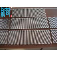 China Wedge Wire Panel Swimming Pool Drainage Grates on sale