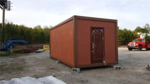 China Fireproof Movable Prefabricated Container House With Sandwich Panel on sale