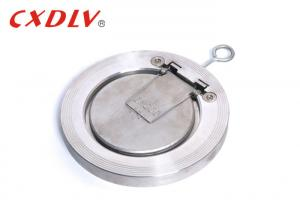 China H74 Single Disc Swing Wafer Check Valve With Spring Stainless Steel ANSI 150LB on sale