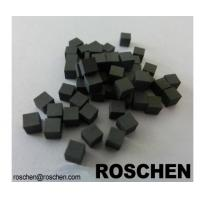 Square TSP Polycrystalline Diamond for Petroleum / Geology Industry