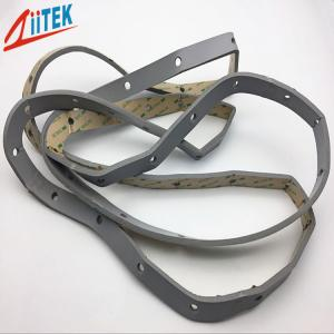 China Ultraviolet Resistance Silicone Foam Gasket Z-FOAM8380  9.5mmT For Electronic Products on sale