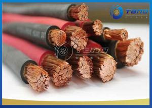 China Welding Rubber Insulated Cable High Flexible With Flexible Bare Annealed Copper Wire on sale