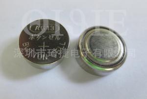 China Batería alcalina del botón de la pila de AG13/LR44 1.5V on sale