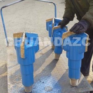China Factory direct 2016 new products 6 inch Drag diamond well water dirll bit for soft stratum on sale