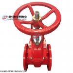 BS 5163 PN16 cast iron rising spindle gate valve