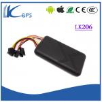 LKGPS Small Motorbike GPS Tracker Anti-theft , GSM GPS Tracking 200mA