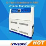 PID SSR Control QUV Accelerated Weathering Environmental Test Chamber With Stainless Steel Plate