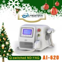 Portable q switch nd yag laser for tattoo removal and skin rejuvenation yag laser
