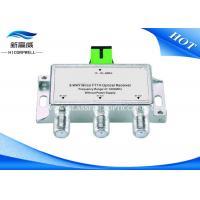 China Mini 3 Way HDMI AOC Cable CATV Passive Optical Node / FTTH Optical Recever on sale