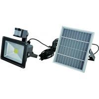 solar led lighting with microwave motion sensor