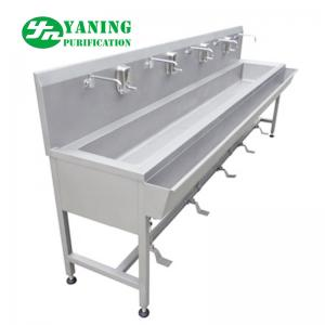 China Foot Operated Stainless Steel Hand Wash Basin Sink For Laboratory / Operating Theatre on sale
