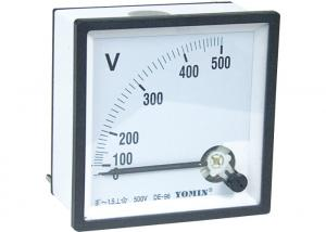 China DC - V96 Analogue Panel Meters , DC Voltmeter Comply With Accuracy Class 1.5 on sale