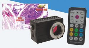 China CMOS image sensor Digital Microscope Cameras , hdmi microscope camera on sale