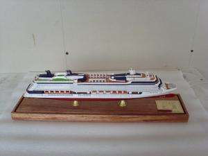 China Barco de cruceros de madera profesional formado, pintura del infinito de la celebridad de los barcos modelo de madera sólida on sale