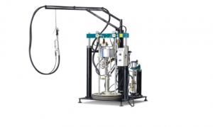 China Sealant Dispensing Equipment , Small Extruder Machine , Silicone Extruder Machine on sale