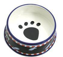 China ceramic pet feeders pet bowls on sale