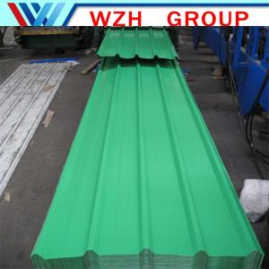 China Prepainted galvanized corrugated roofing sheets on sale