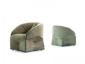 Quality Fabric Modern Upholstered Chairs Furniture , Nordic fabric Easy Chair for sale